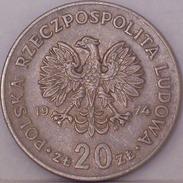 POLONIA - 20 Zloty 1974 - Polonia