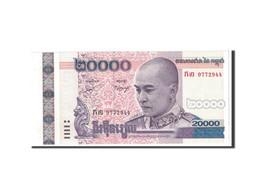Cambodge, 20,000 Riels, 2008, KM:60a, NEUF - Cambodia