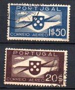 1936 Portogallo Aerea Unificato  A1 A9 Timbrati Used - Luchtpostzegels