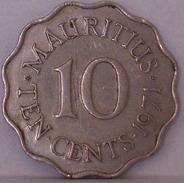 MAURITIUS - 10 Centesimi 1971 - Mauritius