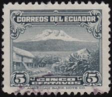ECUADOR - Scott #323A Mount Chimborazo / Used Stamp - Equateur