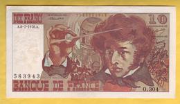 BILLET FRANCAIS - 10 Francs Berlioz 6-7-1978 SUP - 1962-1997 ''Francs''