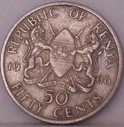 KENIA - 50 Centesimi 1966 - Kenia