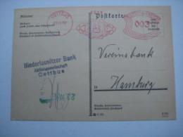 Firmen Freistempel , Meterstempel Auf Beleg Aus  COTTBUS  1932 - Germany