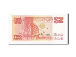 Singapour, 2 Dollars, 1990, KM:27, NEUF - Singapour
