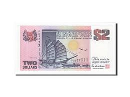 Singapour, 2 Dollars, KM:28, TTB+ - Singapour