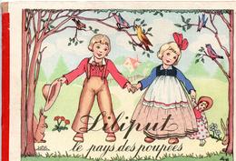 LILIPUT Le Pays Des Poupées Albert. JUSTIN Images STAEBEL Editions LUCOS Mullhouse (Haut Rhin) - Books, Magazines, Comics