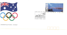 (109) Australia - Sydney 2000 Olympic - Congratulatin - 24 Sept 1993
