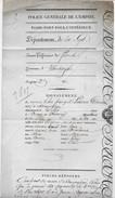 Brief Verstuurd Uit Veurne  Naar Izenberghe 2/2/1807 - Historical Documents