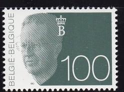 1992, Belgien, 2533,  Freimarke, König Baudouin 100,   MNH **, - Belgien