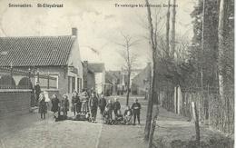 SEVENEEKEN : St-Eloystraat- Cachet De La Poste 1909 - Lochristi