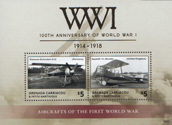 Grenada Carriacou MNH SS - WW1