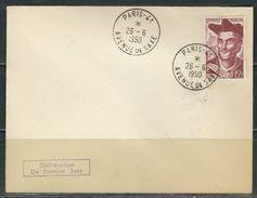 FRANCE 1950 Rabelais FDC - FDC