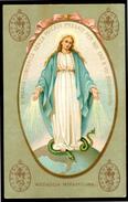 SANTINO - Santissima Vergine Maria Madre Di Dio - Santino Antico Con Preghiera Come Da Scansione. - Andachtsbilder