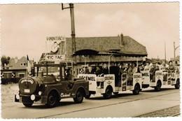 St Idesbald, Coxyde Express, Reclame Cecemel, Fristi, Pontiac (pk32471) - Koksijde
