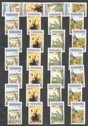 7x TANZANIA - MNH - Animals - Giraffes - Wild Animals