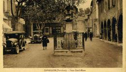 CAVAILLON    /  84    / LA PLACE    CPA   9 X 14 - Cavaillon
