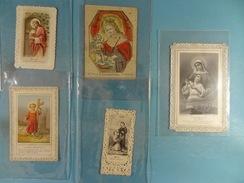 Lot De 10 Images Religieuses (canivets) (30) - Images Religieuses