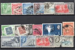 Barbades : Petit Lot Timbres Oblitérés - Barbados (1966-...)