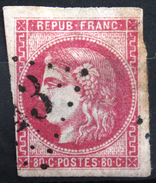 FRANCE               N° 49         2° CHOIX              OBLITERE - 1870 Bordeaux Printing