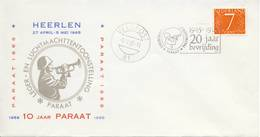 Veldpost - 20 Jaar Bevrijding En 10 Jaar Paraat (1965) - Blanco / Open Klep - Periode 1949-1980 (Juliana)