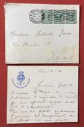 RAFFAELE CADORNA  BIGLIETTO AUTOGRAFO ALMARCHESE GABRIELE TERZI  DEL 24/12/14 V.note - Autographes