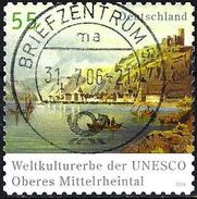German Federal Republic 2006 - Rhine Valley - World Heritage ( Mi 2537 - YT 2360 ) Perf. 11 - BRD