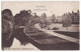 LEAMINGTON SPA YORK PROMENADE, WARWICKSHIRE UK C1900s-10s Antique Vintage Postcard [7005] - England