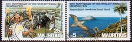 MAURITIUS 1985 SG #712,714 Part Set 2 Stamps Of 4 Used World Tourism Organization - Mauritius (1968-...)