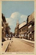 ALGRINGEN - ALGRANGE  Rue Foch Et Temple  (122) - Zonder Classificatie