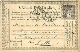 Cpa Précurseur 1876 De HAZEBROUCK 59 à Lille - Hazebrouck