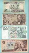 Kuwait Austria Ceska Cina Banknotes - Banconote