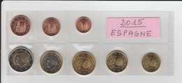 2015 - ESPAGNE - Série Des 8 Pièces Euro. - Provenance De Rouleaux -  Voir Les 2 Scannes. - Spagna