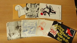 LOT CARTES CPC Plus De 80 De 1980 à 1995 + CARTES COLLECTIONNEURS 15 Environs + CARTES CLUB ET BOURSES 15 Environs - 5 - 99 Postcards