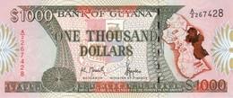* GUYANA 1000 DOLLARS ND (1996) P-33 AU/UNC  [GY111a] - Guyana