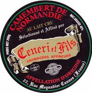 ETIQUETTE DE  CAMEMBERT SAINT LOUP DE FRIBOIS   14 608 - Cheese