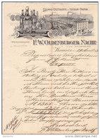 HANNOVER .- F.W. OLDENBURGER NACHF - Lebensmittel