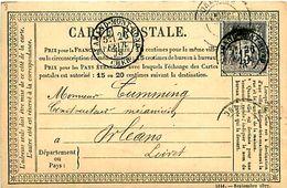 Cpa Précurseur 1878 De SAINT AMAND MONTROND 18 à Orléans - Saint-Amand-Montrond
