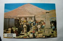 Potosi - Bolivia - Mercado - Cerro Rico - Bolivie