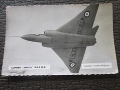 "Avion De Chasse GLOSTER""JAVELIN""MK(G.B) WW2-  39-45 Carte Postale PHOTO Militaria,Matériel    Guerre,Militaire Aviation - Equipment"