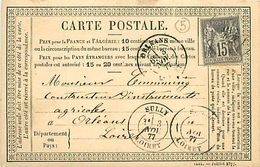 Cpa Précurseur 1877 De SULLY 41 à Orléans - France