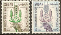 Sudan 1963 SG 226-7 F F H Mounted Mint - Somaliland (Protectorate ...-1959)