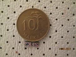 FINLAND 10 Markka 1953  # 1 - Finland