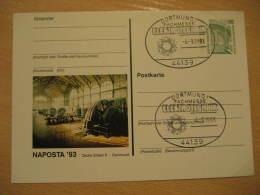 ELEKTROTECHNIK ELECTRICITY Physics Physique Science Dortmund 1993 Cancel Stationery Card Germany - Physique