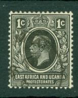 East Africa & Uganda Protectorates: 1912/21   KGV    SG44   1c     Used - Protectorados De África Oriental Y Uganda