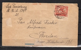 STRAFBEFEHL 1920 LESZNIE > Breslau (64) - 1919-1939 Republik