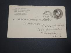 ETATS UNIS - Entier Postal De New York Pour Le Brésil En 1916  - A Voir - L 6179