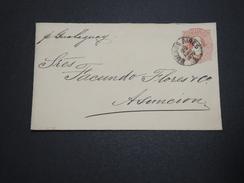 ARGENTINE - Entier Postal De Buenos Aires Pour Asuncion  En 1870 - A Voir - L 6180 - Entiers Postaux