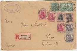 Cover * Germany * 1920 * Registered - Allemagne