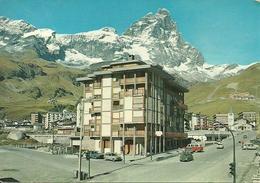 Cervinia Breuil (Aosta) Scorcio Panoramico Estivo, Il Cervino Sullo Sfondo - Aosta